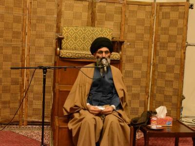 گزارش تصویری درس اخلاق حجت الاسلام موسوی مطلق