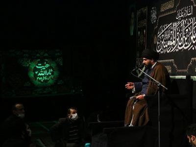 مراسم عزاداری وفات حضرت ام البنین(س) در هیئت ثارالله مسجد جامع الهادی برگزار شد
