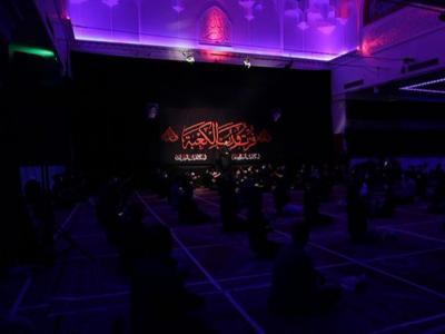 مراسم احیای شب نوزدهم ماه مبارک رمضان در هیئت ثارالله مسجد جامع الهادی