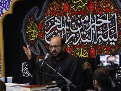 مراسم احیاء شب بیست و یکم ماه مبارک رمضان
