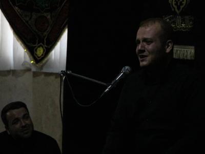 گزارش تصویری  عزاداری شهادت امام علی(ع) در هیئت حب الحسین (ع)