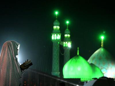 تشرف یک زن مسیحی به دین اسلام در جمکران