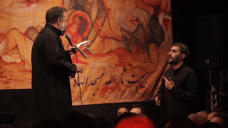 صوت/حاج محمود کریمی و محمدحسین پویانفر شب دوم محرم ۹۷