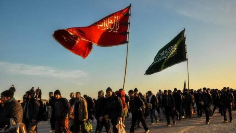 برپایی موکب قرآنی پاکستانیها در مسیر اربعین