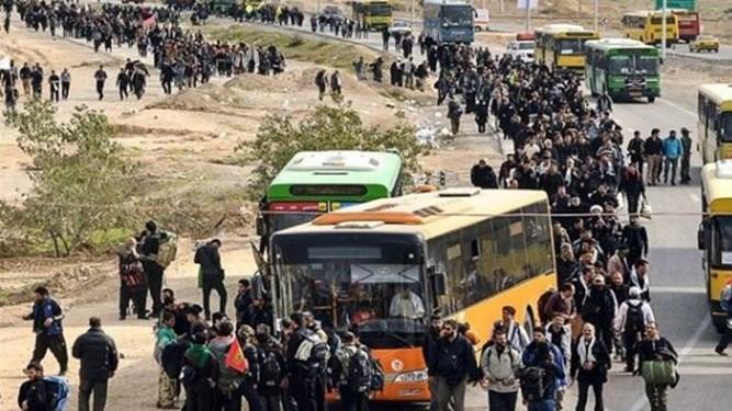تخفیف ۲۵ درصدی نرخهای یک شرکت اتوبوسرانی برای زائران اربعین