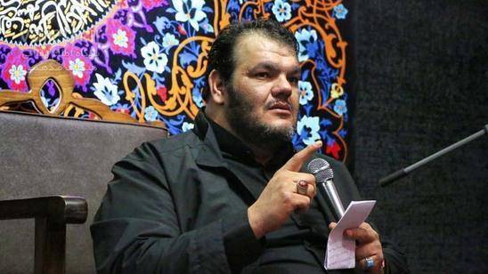 دعاخوانی حیدر خمسه در مسجد مقدس جمکران