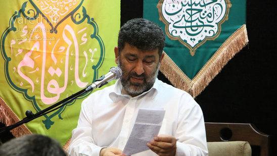 فیلم/ حاج سعید حدادیان: علی جان من از آیه های قنوت درختان