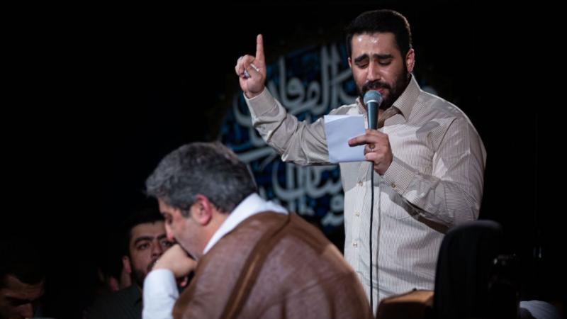 حسین طاهری؛ پرچم نصر من الله اومد، پسر علی ولی الله اومد+متن