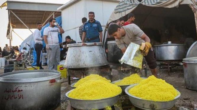 کمکرسانی ۱۷۶ موکب اربعین به سیلزدههای خوزستان