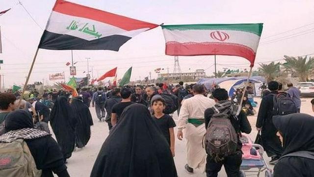 جوانان عراقی با افتخار میزبان زائران اربعین اند