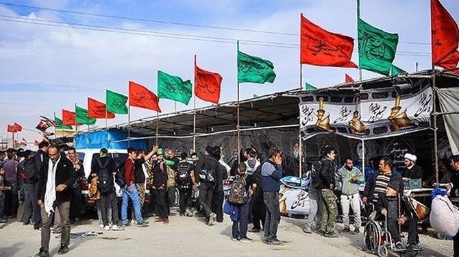 استقرار ۲۰۰ موکب در مسیر پیادهروی جاماندگان اربعین در شهرری
