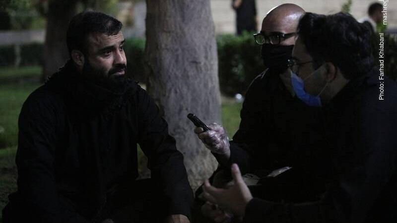 شهید حججی در همین هیئت مدافع حرم شد