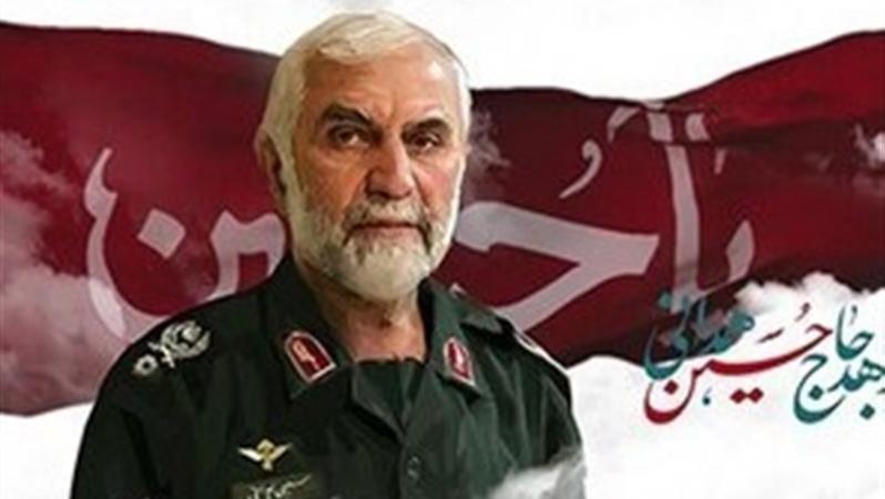 نوسروده احمد بابایی برای سردار حسین همدانی؛به محاسن، خضاب خون میزد تا نگویند شیر، پیر شده است