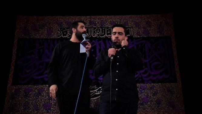 حنیف و حسین طاهری زائران اربعین را بدرقه میکنند